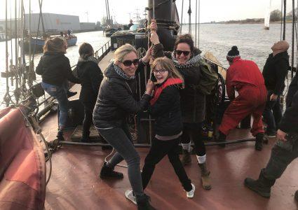 familieweekend op het IJsselmeer of de Waddenzee